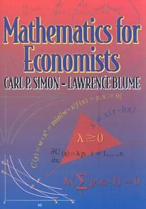 Mathematics for Economists (1 ED)