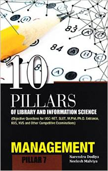 10 Pillars of Library and Information Science Pillar 7 Management by Narendra Dodiya 8170007674 US ED