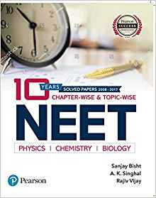 10 Years Chapter Wise and Topic Wise for NEET by A K Singhal 9352866363