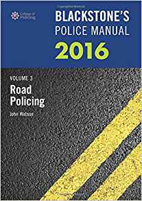 Blackstones Police Manual 1 ED Vol 3 by John Watson 0198743440