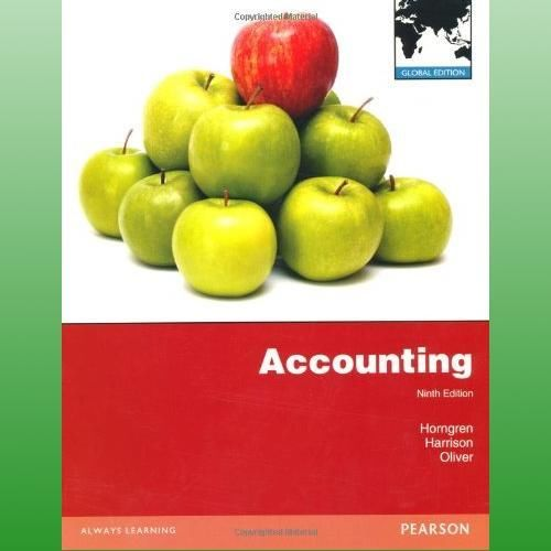 Accounting (9 ED) Horngren