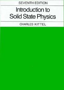 Introduction to Solid State Physics (7 ED)