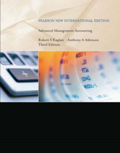 Advanced Management Accounting (3 ED) Kaplan 1292026596