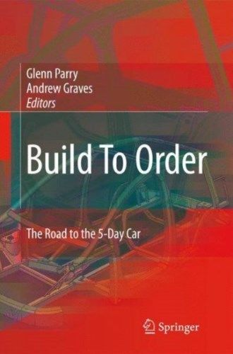 Build to Order 2008 ED by Glenn Parry 1848002246 US ED
