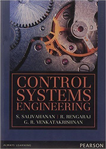 Control Systems Engineering 1 ED by S Salivahanan 9332534136