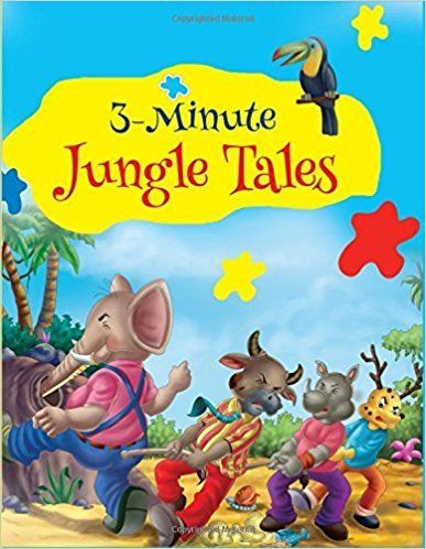 3 Minute Fables Jungle Tales by Om Books 9380069839